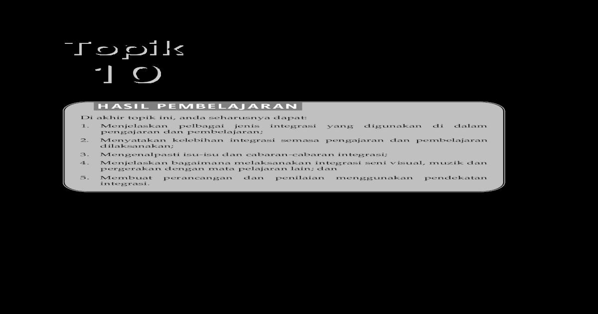 Topik 10 Integrasi - [PDF Document]