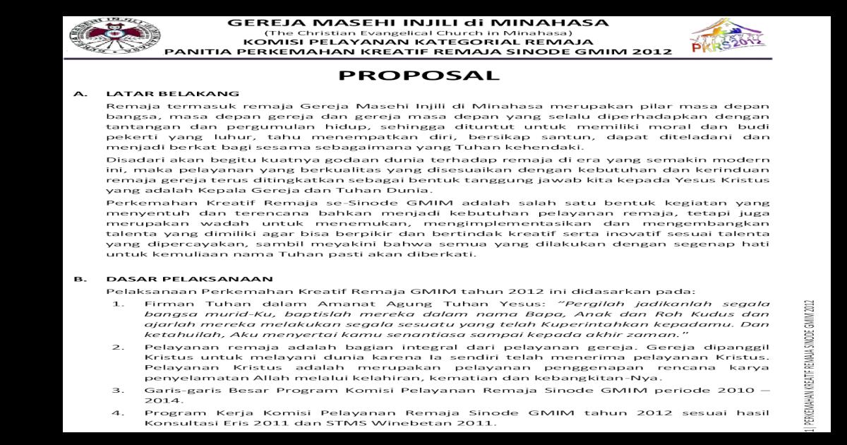 Contoh Proposal Kegiatan Seminar Narkoba Doc Berbagi Contoh Proposal