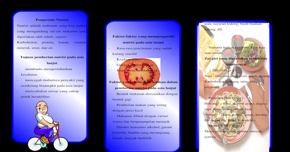 Leaflet Pengertain Nutrisi Doc Document