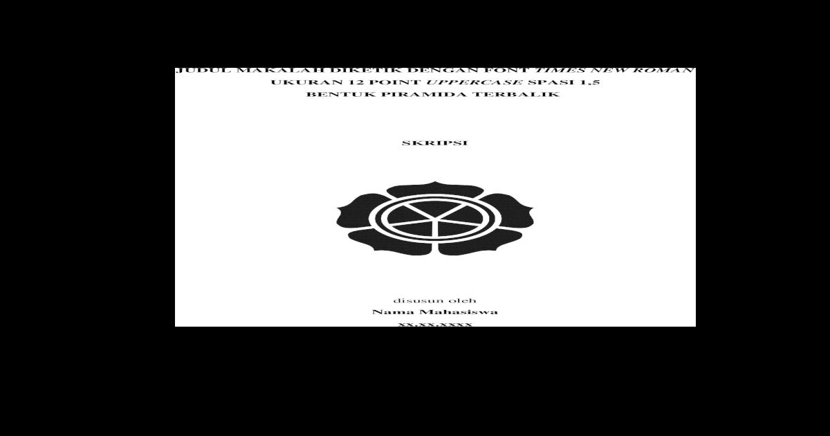 Tugas Akhir Universitas Amikom Web Viewlampiran A Penjelasan Mengenai Template Laporan Skripsi Doc Document