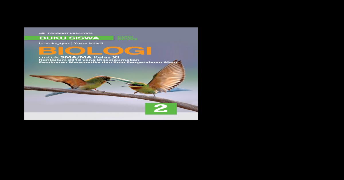 Buku Cetak Biologi Kelas 10 Erlangga - GURU SD SMP SMA