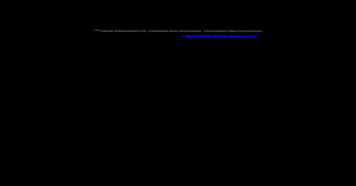 Sistem Informasi Surat Masuk Dan Sistem Informasi Surat