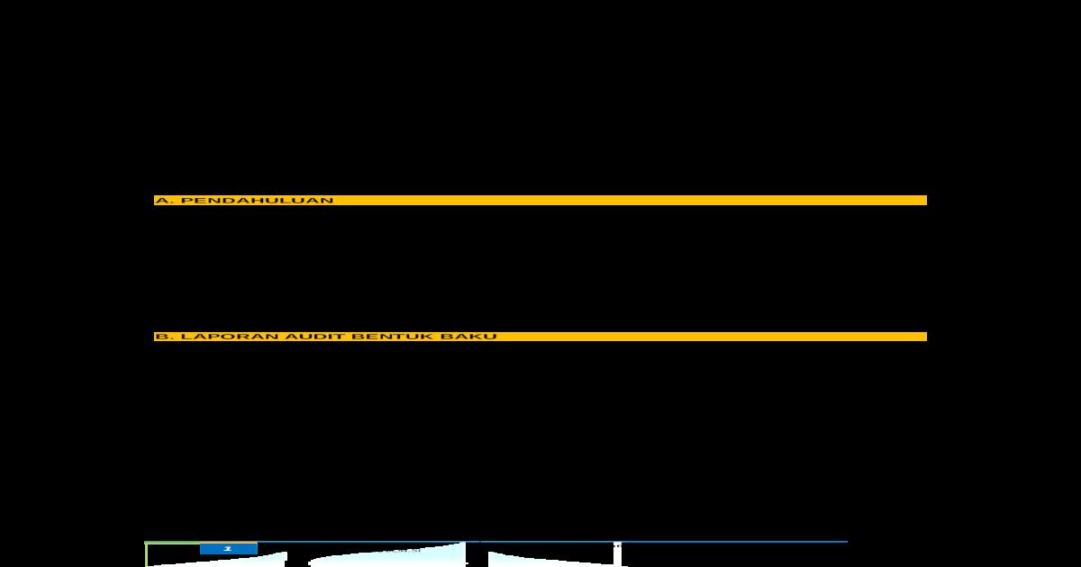 Laporan Audit Doc Document