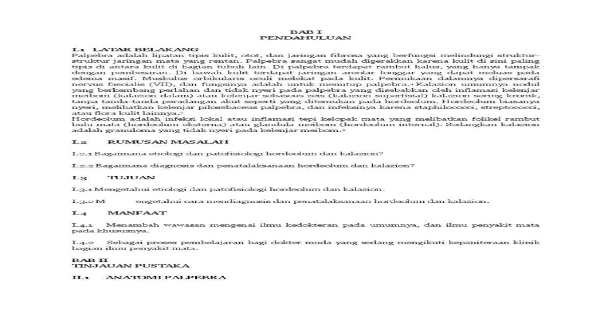 makalah kalazion - Download PDF