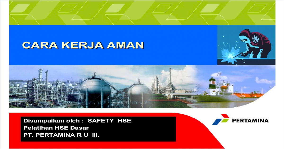 Cara Kerja Aman (HS) - PDF Document