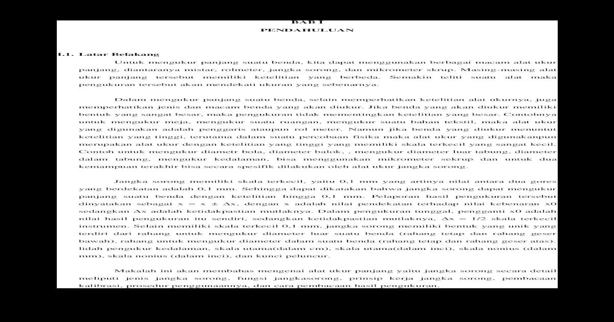 Makalah Jangka Sorong Docx Document