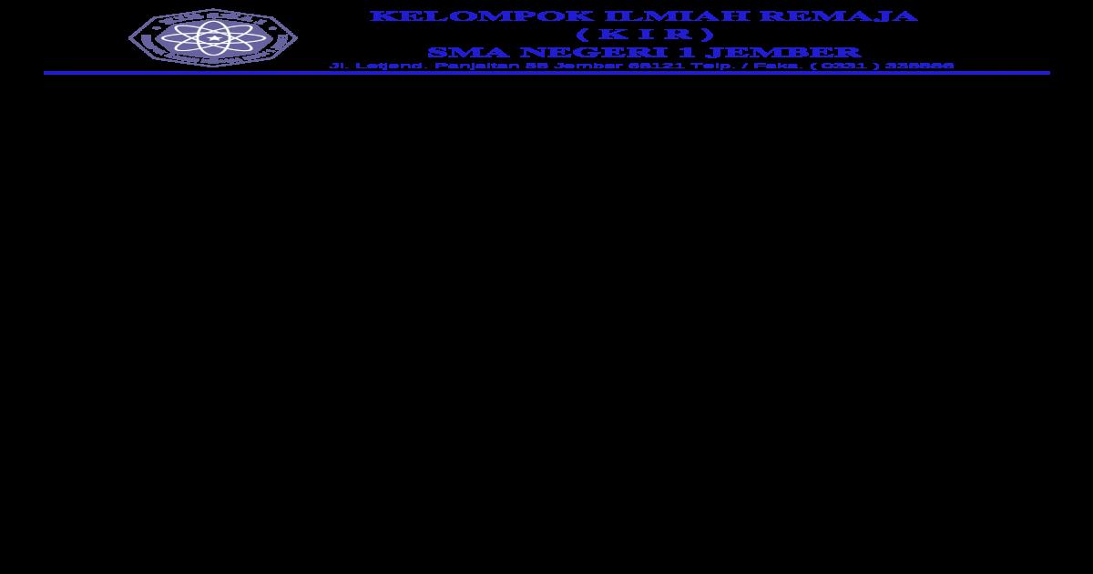 Surat Undangan Pembina Osis Doc Document