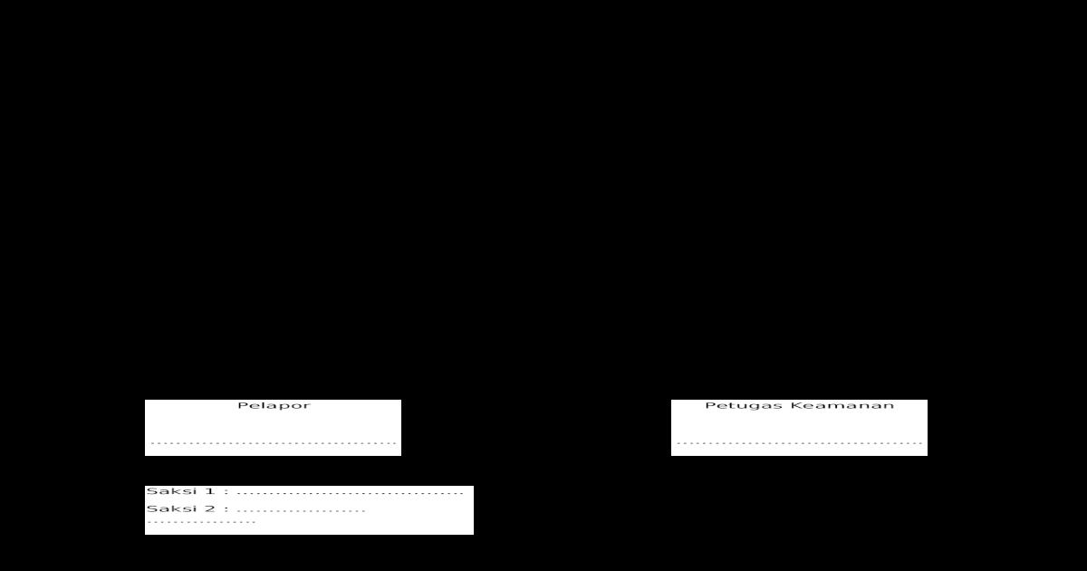 Bap Penemuan Barang Doc Document