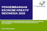 3880541a2af40 Buku 3 an Industri Kreatif Menuju Visi Ekonomi Kreatif Indonesia 2025 -   PDF Document