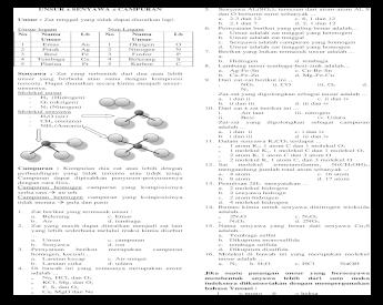 Web View2 Molekul K 1 Atom C Dan 3 Molekul O Sat Molekul Trimetanolamin N Ch2oh 3 Mengandung Doc Document