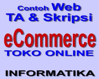 E Commerce Toko Online Bunafit Ecommerce Toko Online 2 E Commerce Toko Online Sistem Informasi Penjualan Barang Online Berbasis Web Programmer Bunafit Nugroho Tim Pdf Document
